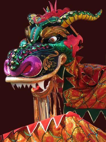 Костюм китайского дракона сделать