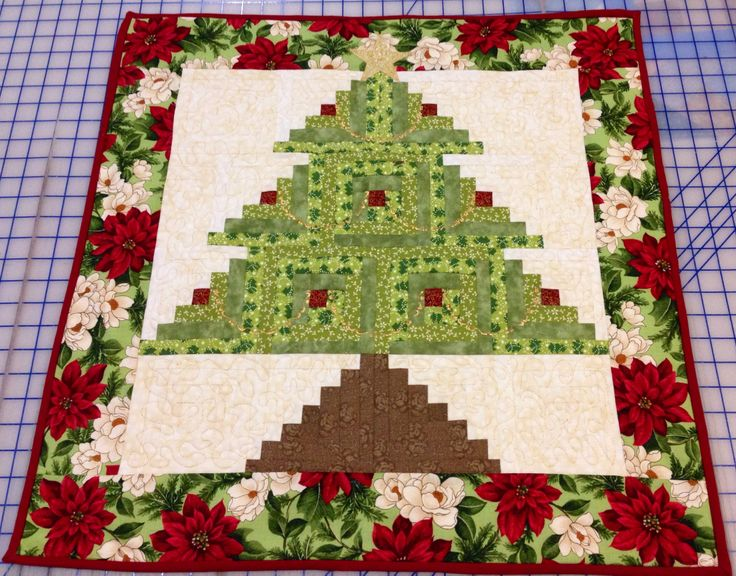 Eleanor Burns Quilt In A Day Holiday Wreath And Tree