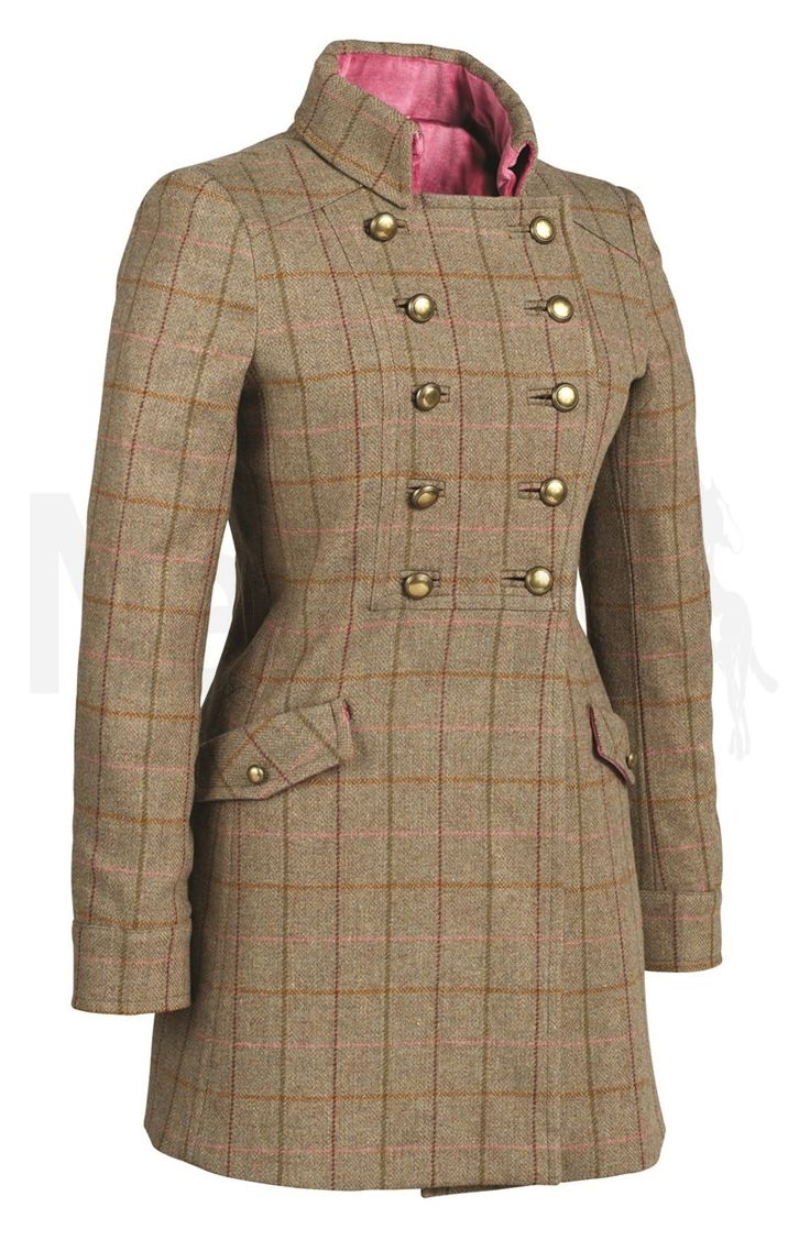 Tottie Ladies Sophie Long Tweed Coat Green - Tottie Ladies Sophie Long Tweed Coat in Green. The Tottie Ladies Sophie Long Tweed Coat is a flattering and stylish long length tweed coat. The Sophie Coat features a multi-buttoned front that can be fastened in several variations, a contrasting velvet trim, a contrasting lining, two front pockets, half belt detail on the back and antique buttons. Made from 100% Wool. Dry Clean Only.