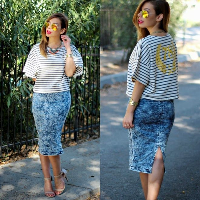 9 best Acid Wash Skirt images on Pinterest