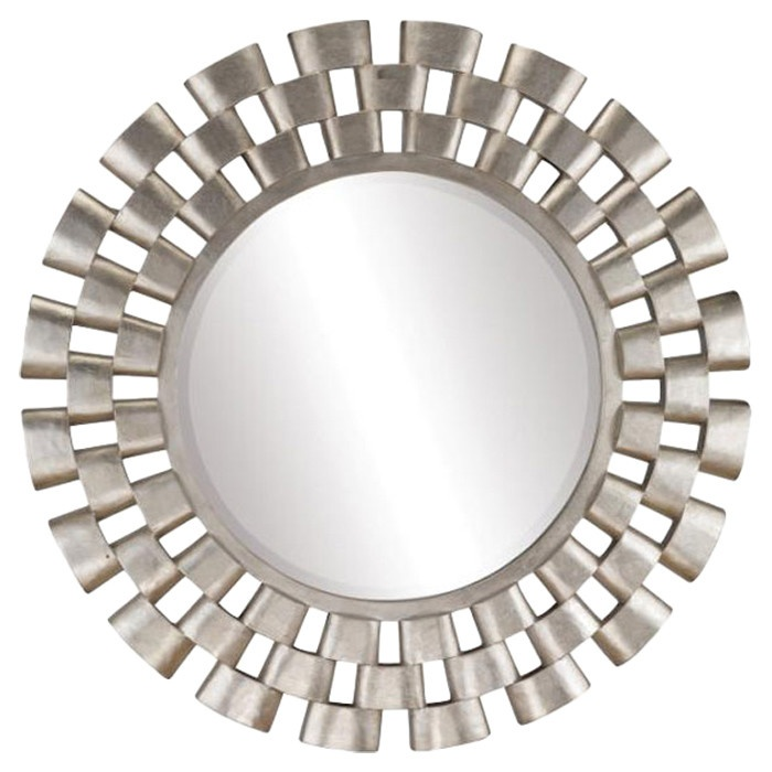 Shop For Stein World Links Round Wall Mirror And Other Living Room Mirrors At Drurys Inc In Fountain MN With An Antique Silver