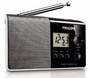 Philips AE1850/00 Portable Radio by Philips. $50.00. The light and powerful Philips AE1850/00 is a truly pocket-sized portable radio! As well as its handy backlit screen, the AE1850/00 features a built-in quartz clock and a 100 mW mono speaker for a clear sound output no matter where you are. Plus, this super-small radio is the perfect travel companion as it weighs just 165g. AM/FM tuner AM/FM tuner for radio enjoyment. Large backlit LCD display Backlit LCD displa...