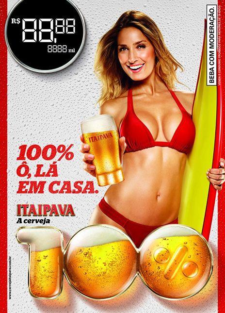 Advertising com styling HVA Cerveja Itaipava