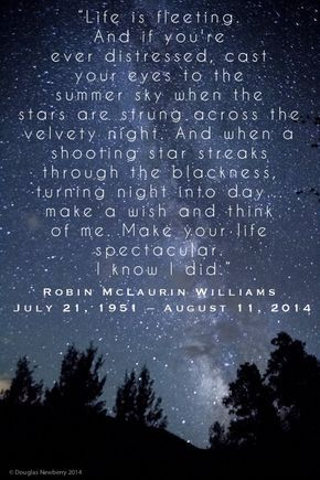 """Robin Williams Quote from the movie """"Jack"""" ..... RIP"""