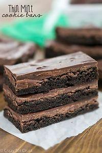 Thin Mint Cookie Bars | eBay
