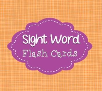 Plain ol' Dolch sight word flash cards!  Put them on a ring, print two copies and play go fish, create a bang card with the extras and play bang, or use them as flash cards! Whatever you want!  There is a pre-primer, primer, 1st, 2nd, and 3rd grade set.