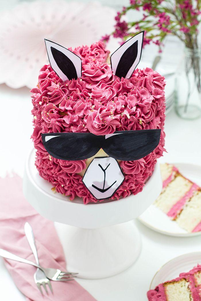"Himbeer Vanille Torte alias ""No Drama Lama Cake"" – Melanie"