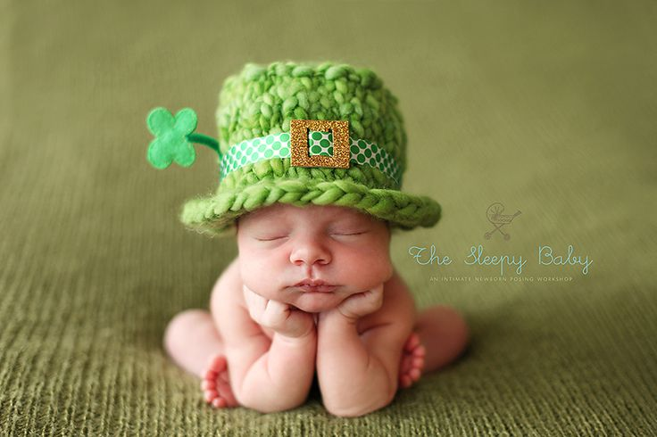 Love the lil shamrock.