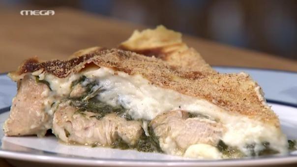 Σουφλέ κοτόπουλο με σπανάκι | MEGA TV ΚΑΝ' ΤΟ ΟΠΩΣ Ο ΑΚΗΣ