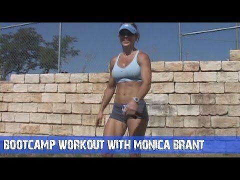 Fitness Workout Ideas - Bootcamp Workout With Monica Brant - YouTube