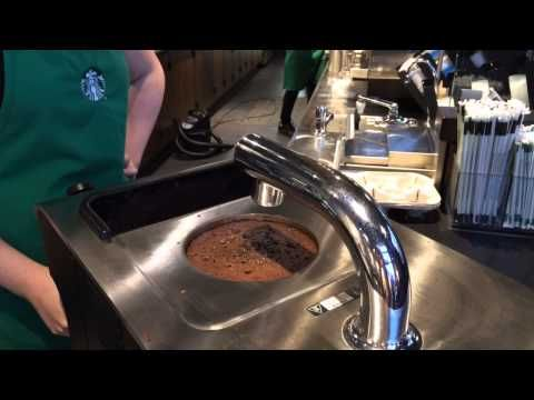 Clover Coffee Machine Starbucks Demonstration At Broadstone Folsom, CA 4-26-14 #coffee #CloverMachine #Starbucks