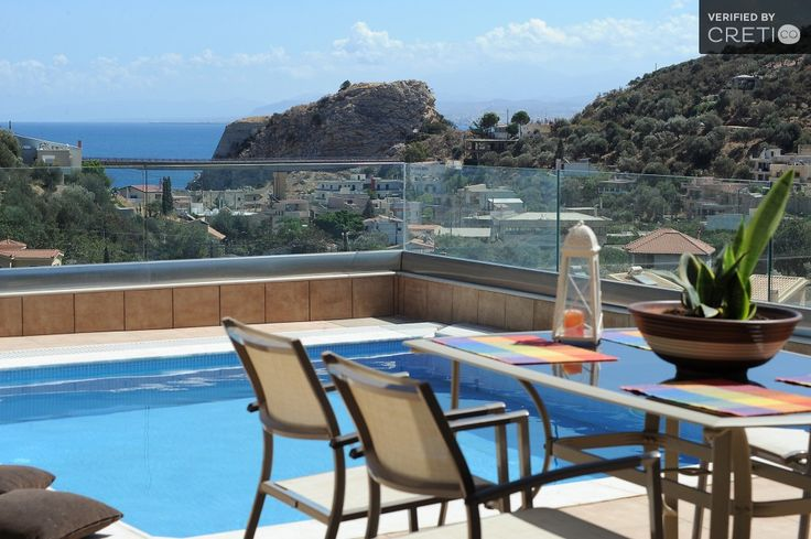 Three Bedroom Comfortable Villa I With Magic Sea View, Paleokastro | Cretico