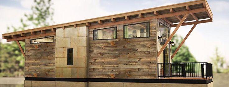 Diseño de casas pequeñas de uno y dos pisos de madera, económicas y fáciles de construir, fachada y  planos de la vivienda con la distribución de ambientes