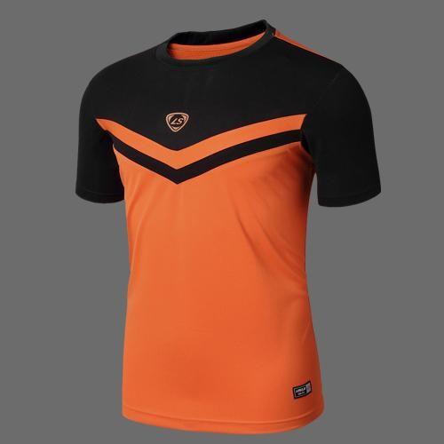 LINGSAI Summer Men Short Sleeve Compression T Shirt Quick Dry Fitness Slim Fit T-shirt Sports Tops & Tees Soccer Jerseys M-XXL