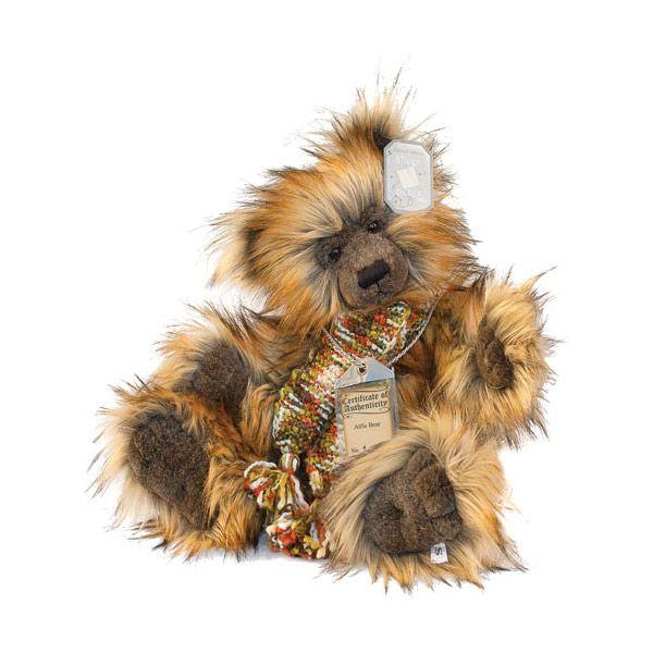 Suki Teddy Bear Alfie - Silver Tag Bear - Collection 4