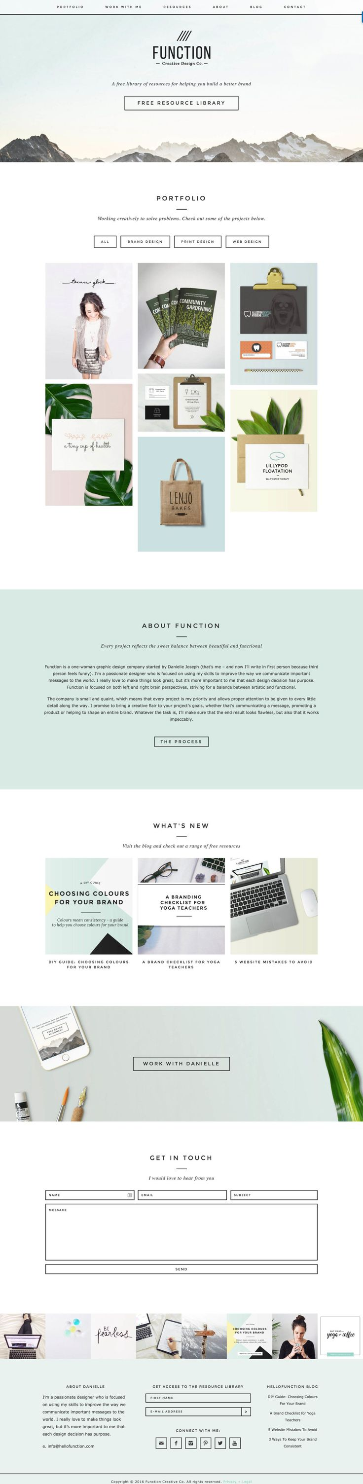 Station Seven Showcase: A look at customer sites customized using our WordPress themes.
