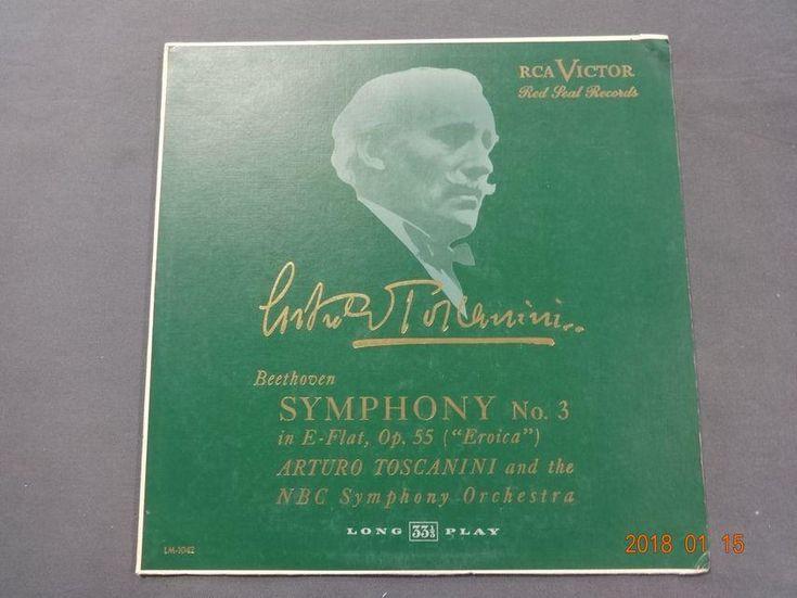 Arturo Toscanini, Beethoven no 3 album