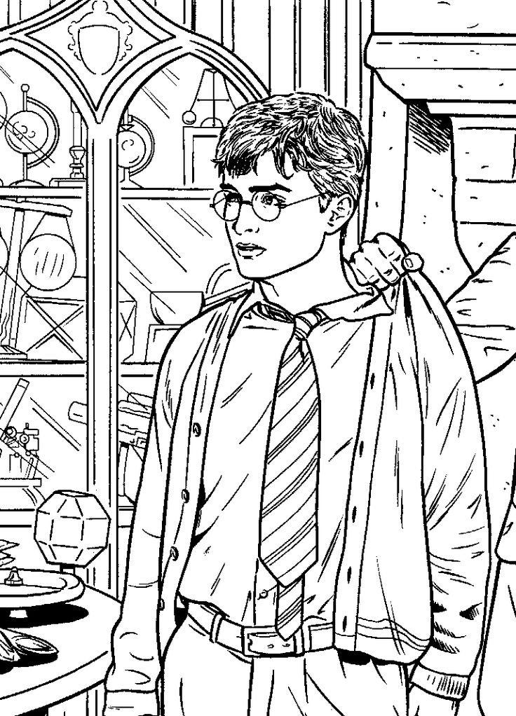 Les 25 meilleures id es de la cat gorie coloriage harry potter sur pinterest harry couleurs - Coloriage harry potter ...