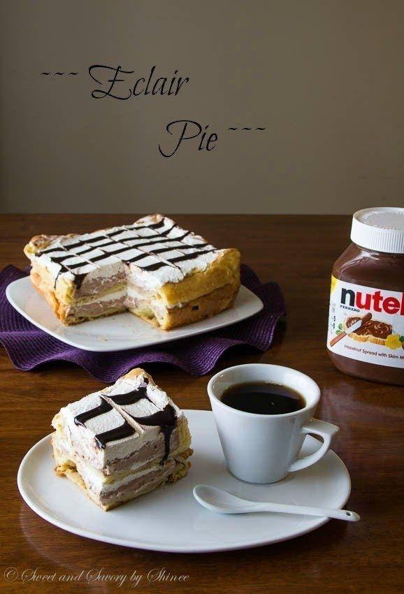Как приготовить пирог-эклер - рецепт, ингридиенты и фотографии