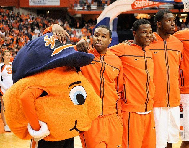 Syracuse University Otto The Orange Mascots Syracuse