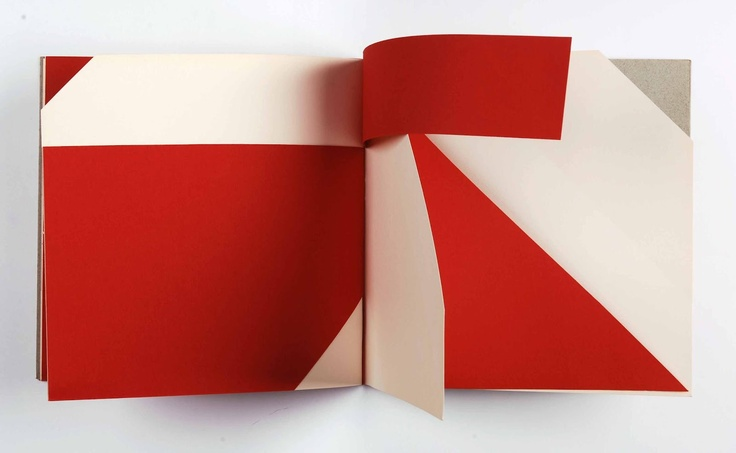 Artists' Books and Multiples: Bruno Munari | An Unreadable Quadrat-Print