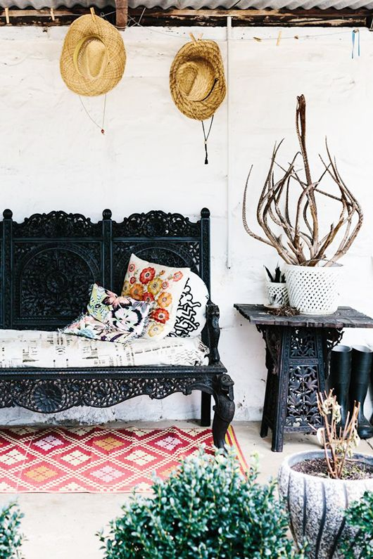 Think shoe bench by front door, or just regular living room furniture... love the 19th century feel
