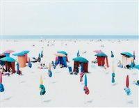 Deauville Beach par Massimo Vitali