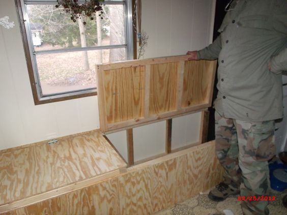 Creating Storage in a Mobile Home - Our New Window Seat - Mobile and Manufactured Home Living