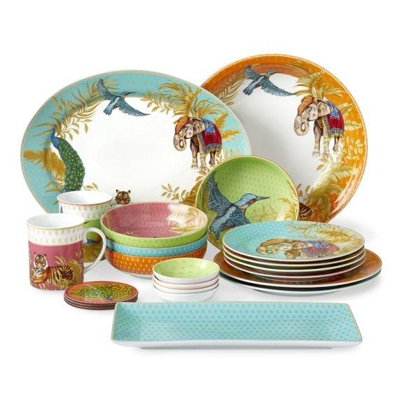 Raj Dinnerware Collection Williams Sonoma Dinnerware
