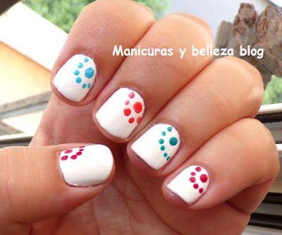 Cuarta semana del #retocolorescosasdechicasvol4, toca manicura blanca, ¿Os gusta mi propuesta?  #manicura   #nails   Manicuras y belleza blog: Reto colores cosas de chicas: Manicura blanca.