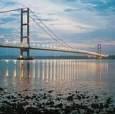 Humber Bridge, Hull, East Yorkshire or Golden Gate Bridge, San Francisco? See what I mean?!