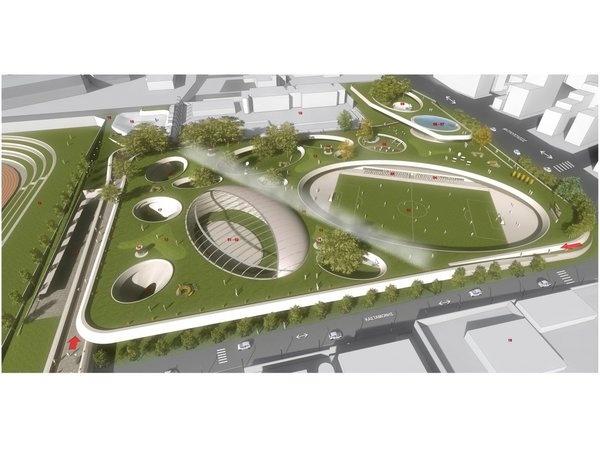 Architecture 2012 by Alexios Vandoros, Neapoli Competition / Thessaloniki / 3rd Prize