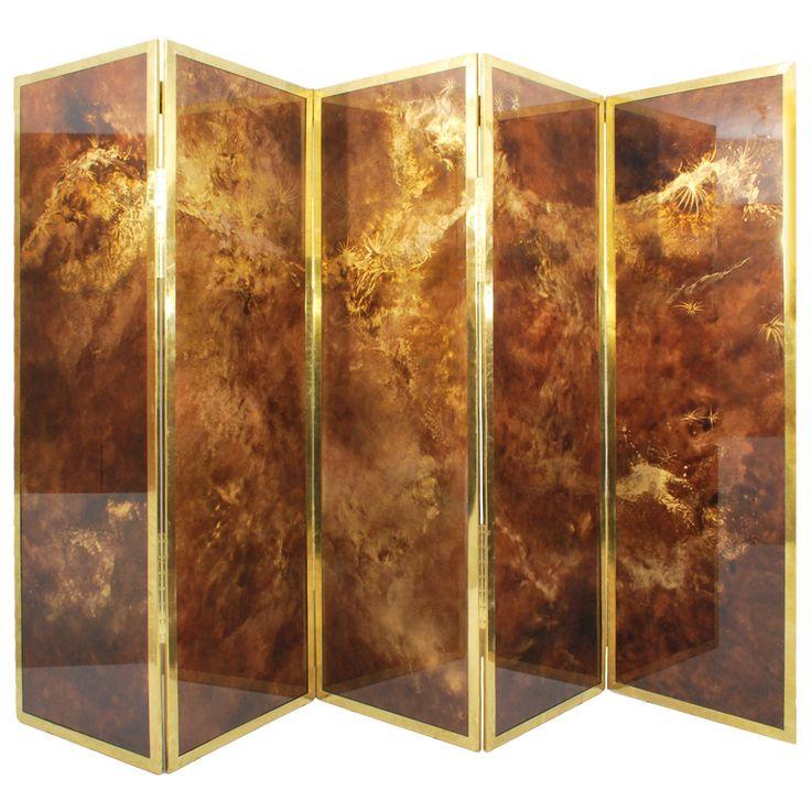 "1stdibs - Large Guy Lefevre 5 Panel Screen, 155"" explore items from 1,700  global dealers at 1stdibs.com"