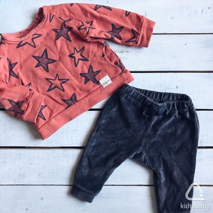 Толстовка и брюки Zara, р.68, идеальное состояние, 600 ₽ за комплект🌿