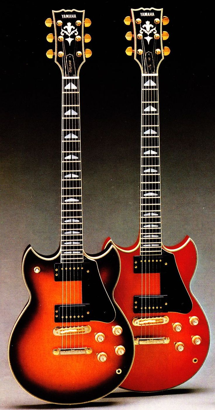Pretty good one for y'all today. Click below to download the complete 20pp Yamaha Electric Guitars and Basses Catalog circa 1981: DOWNLOAD: Yamaha_Guitars_1981 Models covered, with text, photo
