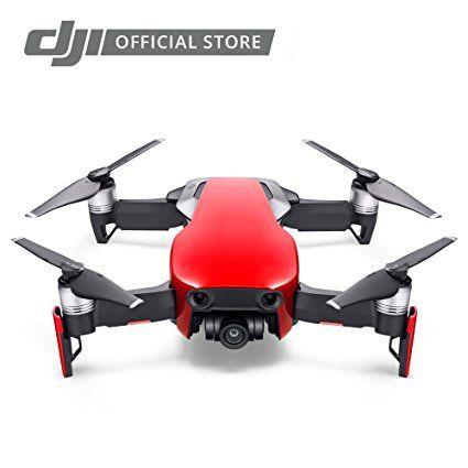 DJI Mavic Air, Flame Red Portable Quadcopter Drone : Camera & Photo
