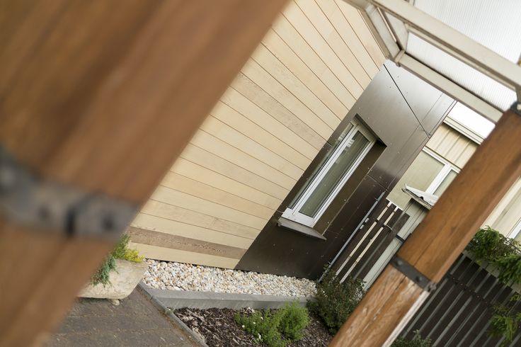 CETRIS Lasur / façade sans entretien / panneaux bois-ciment