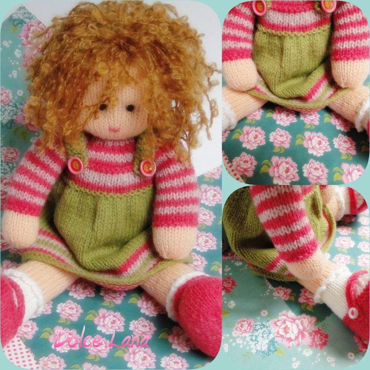 Doll from the Tearoom Schattige pop van Mary Jane's Tearoom. Super leuk om te maken. Patroon te koop via haar webshop.