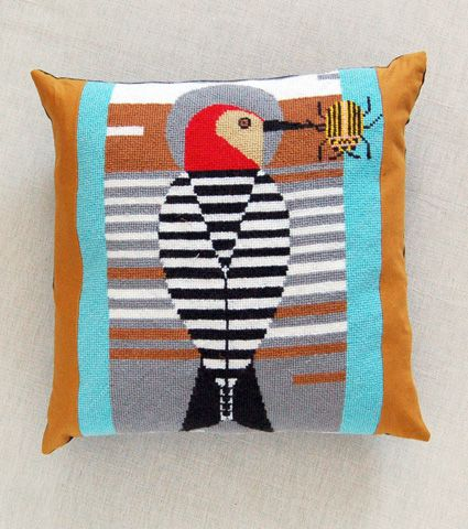 I am obsessed with Charley Harper and since our walls are full, this would be a great way to get him in my home.