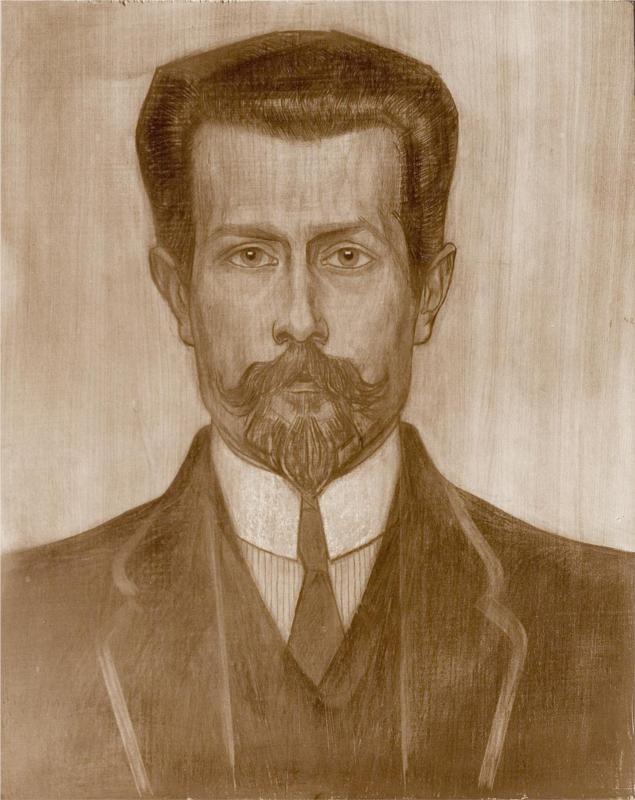 Portrait of Theo Neuhuys, 1919  Jan Toorop