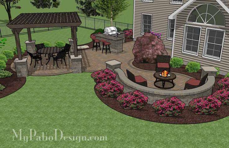 patio designs - Google Search