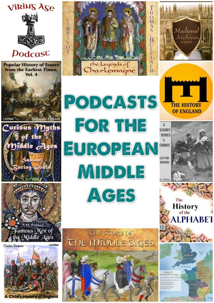 Great way to add Middle Age history to the day for FREE.  Carschooling fun and a variey of view points on one period of history.  Compare and contrasting historical accounts of Medieval Europe. http://www.playdiscoverlearn247.com/2016/09/16/listening-to-the-middle-ages-for-free/