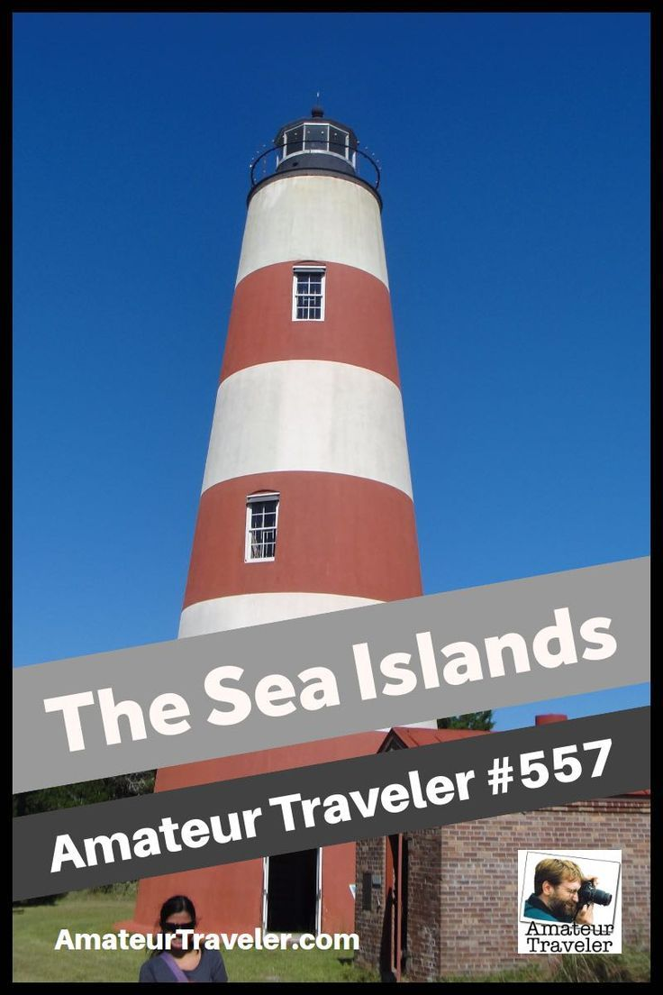Explore the many islands off the coast of the southern USA (South Carolina and Georgia). Here you will find mansions and old forts, sea turtles and wild horses and the Gullah culture.