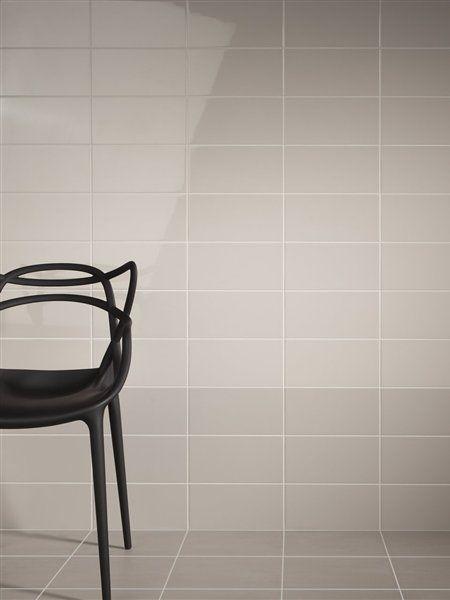 Mosa. Tiles. - grey 15-30 (bathroom)