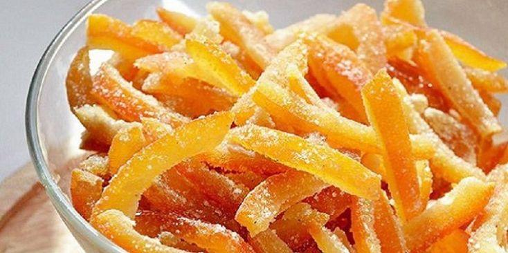 Hihetetlen finomság narancshéjból! Ezután nem dobom ki a narancs héját!