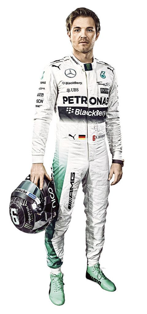 Life size adhesive wall graphic. High quality, durable and reusable vinyl cling. See how you measure up against your Mercedes AMG Petronas F1 team hero. Product ships rolled up in protective mailing t