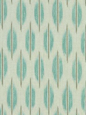 Aqua Ikat Upholstery Fabric by greenapplefabrics on Etsy, $35.00