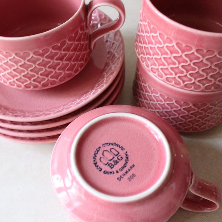 Cordial, Pink, Palet. Bing & Grøndahl