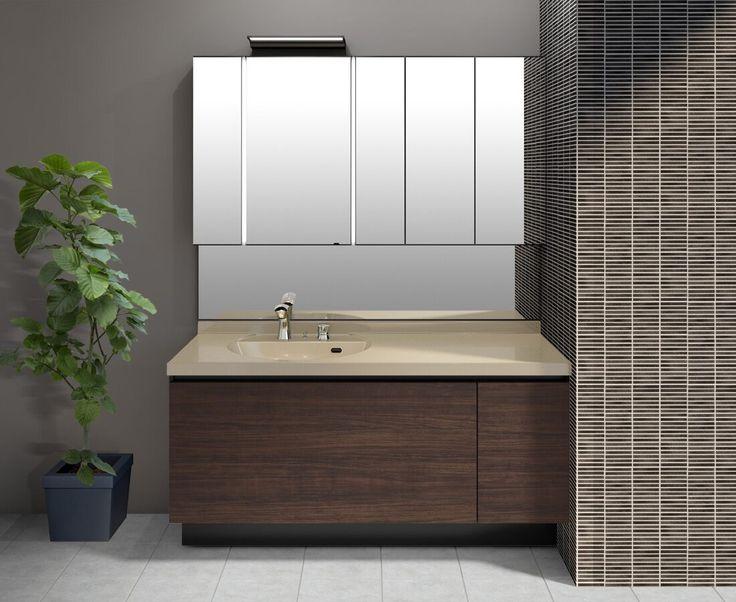 Lixil 洗面化粧室 ルミシス ボウル一体タイプ カラーシミュレーション ボウル一体タイプ 2020 洗面 洗面スペース 化粧室