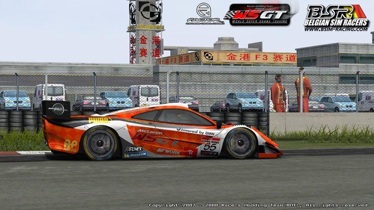 World Super GT for rFactor - New McLaren Rims | VirtualR - Sim Racing News
